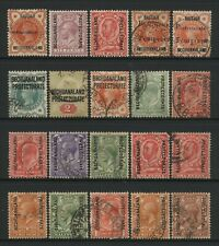Bechuanaland Protectorate Collection 20 QV - KGV Values Mostly Used