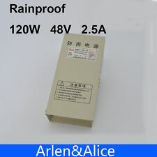 120W 48V 2.5A Rainproof outdoor Single Output Switching power supply smps forLED