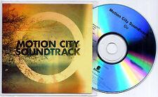 MOTION CITY SOUNDTRACK Go 2012 UK 11-trk numbered promo test CD