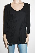 UCW Brand Black Bronte Long Sleeve Top Size 18-20 BNWT #SR109