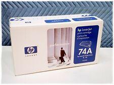 Genuine HP 74A 92274A Toner Cartridge New Sealed