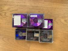 Lot de 34 Minidisc Sharp + 80 min