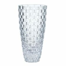 Mikasa Palazzo Crystal Glass Vase 12' inch new unopened box