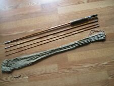 "Vintage Ward Sport King Model Split Bamboo Fly Rod 8'6"" 3 Piece w/extra tip"