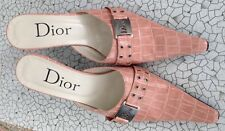 Ladies Dior shoes, size 40,man-made material, 7cm heel.£100.00. Beautiful detail