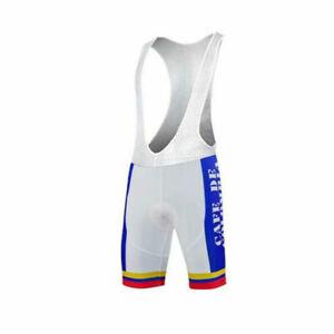Retro 1986 CAFE DE COLOMBIA Cycling Jerseys and Bib Short
