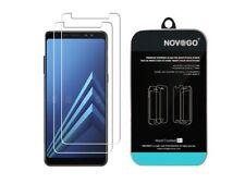 Samsung A8 2018 - Pack de 2 Films protection écran en verre trempé résistants