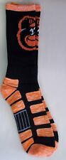 Baltimore Orioles Men's Crew Socks Large Size 10 to 13 Patches