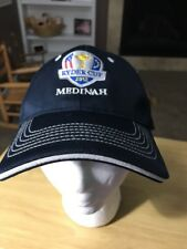 Ryder Cup 2012 Medinah Blue Golf Flexfit S/M Baseball Cap Hat