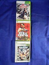 Lot of 3 XBox 360;Battlefield 2 Lmt ED,Battlefield 3 Lmt ED,Battle 4, All Compl.