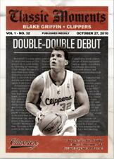 2010-11 Classics Classic Moments Silver #10 Blake Griffin/250 - NM-MT