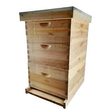 New 8frames 3 Layes Bee House Frame Bee House For Beekeeping With Queen Excluder