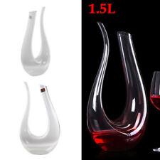1.5L Weinkaraffe Dekanter Glasdekanter Dekantierflasche Glaswaren 360*200mm