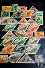 Tannu Tuva Collection of 30 Stamps on Page Clean