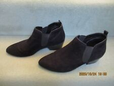 Ladies Marks and Spencer Black Suede Chelsea/Ankle Boots  Size 7 UK