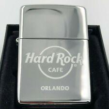 Hard Rock Cafe Zippo Lighter ORLANDO 🇺🇸 - polished Chrome - NEW