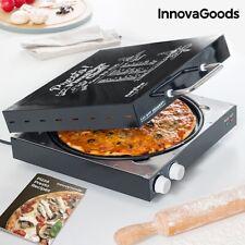 Appareil à Pizza Electrique Four Pizza Electrique Mini Four Electrique à Pizza