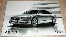 10.327) A8 S8 Katalog Audi Prospekt April 2016 A8 L W12 S8 S8 plus 605 Brochure