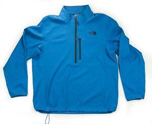 The North Face Blue Men's Nimble 1/2 Zip Jacket Size XL