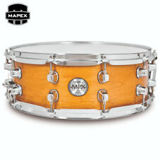 "NEW Mapex MPX Maple 14"" x 5.5"" Snare Drum Transparent Natural MPML4550CNL"