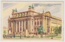 BÉLGICA Tarjeta Postal - ANVERS, Litográfico REAL des Beaux-Arts