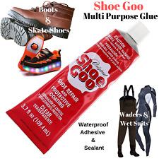 Shoe Glue Boot Repair Clear Fix Silicone Waterproof Multitask Permanent Adhesive