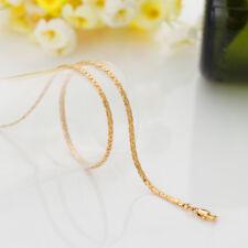Chaîne Plaqué OR jaune maille serpent longueur 60 cm largueur 2,8 mm unisexe