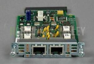 CISCO VIC3-2E/M Two-port Voice Interface Card - E and M