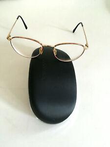 Armani Brille Brillengestell Vollrand Metall Brillenfassung schlicht dezent orig