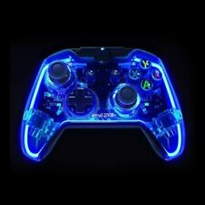 Glow Blue USB Wired Controller Gamepad Joystick For Xbox One/ One S/ Win 7 8 10