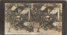 Stereograph George Rose Coronation KGV 1911 Royal Family & Duke of Connaught