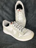 Nike Internationalist Women's Running Shoes - White with Gum Bottoms - Size 7 US