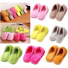 Men Women Home Anti-slip Cotton Slipper Soft Warm Comfy Bedroom Indoor Shoes