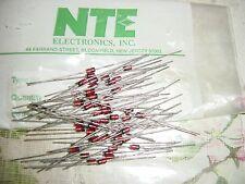 NTE5013A 6.2VOLT 1/2WATT ZENER DIODES REPL ECG5013A 10/PKG