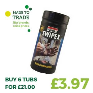 Soudal Swipex Wipes 100 Pack