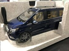 Mercedes Benz, W447, V-Klasse, 1:18 Modell, cavansitblau, Norev,