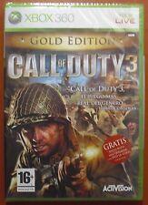 Call of Duty 3 Gold Edition, Xbox 360 / One, Pal-España ¡¡NUEVO A ESTRENAR!!