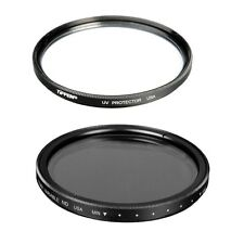 Tiffen 77mm Variable Neutral Density Filter + Tiffen 77mm UV PROTECTOR FILTER