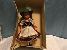 Vintage Jointed Celluloid Gura TeGernsee Girl Doll with Box w Germany 9�