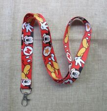 new 1pcs Cartoon Mickey Minnie Lanyard Strap Cell Phone Rope Key Chain Gift