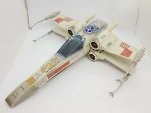 Vintage STAR WARS POTF Electronic X-Wing vehicle 1995 for action figures
