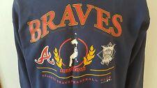 Atlanta Braves Vintage 1994 Baseball Jersey Sweatshirt 42 Xl Greg Maddux Falcons