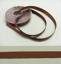 Grosgrain  15mm Chocolate Brown  Ribbon - 20 metres