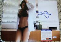 WOW! Megan Fox Signed Autographed 11x14 Photo PSA IN THE PRESENCE COA!