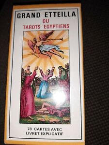 Grand Etteilla ou Tarots égyptiens / GRIMAUD  (Egyptian Gypsies neuf