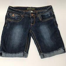Refuge Womens Denim Distressed Shorts Ladies Size 6