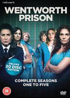Wentworth Prison: Season One to Five DVD (2017) Kate Atkinson cert 18 20 discs