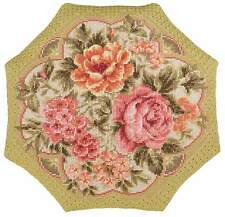 "Cross Stitch Kit RIOLIS 1558 - ""Evening Garden Cushion"""