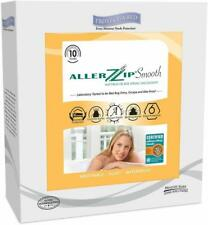 Protect-A-Bed AllerZip Smooth Waterproof Bed Bug Proof Zippered King Mattress