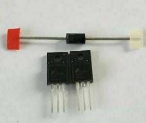 2x FQPF9N50 plus 31GF6 Diode used in samsung BN44-00264C BN44-00264B BN44-00264A